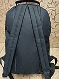 Рюкзак Vans с кожаным дном Унисекс Спортивный городской стильный только ОПТ, фото 4