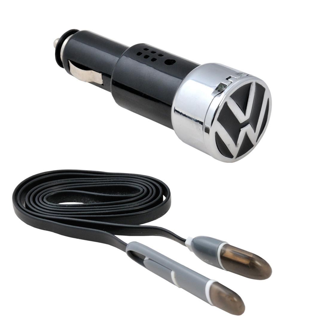 Автомобильное зарядное устройство AZU с логотипом Volkswagen