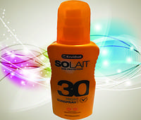 Солнцезащитный спрей-молочко SPF 30 SOLAIT (оригінал з Німеччини)