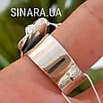 Женское серебряное кольцо без камней, фото 6