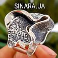 Женское серебряное кольцо без камней , фото 2