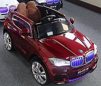 Детский электромобиль БМВ Х5 BMW X5 красный (черный, белый).С планшетом. M 2762 EBR-3. Колеса EVA, MP4, свет.