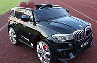 Детский электромобиль БМВ Х5 BMW X5 черный (красный, белый).С планшетом. M 2762 EBR-2. Колеса EVA, MP4, свет.