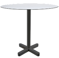 База стола Kross 48x48x73 см антрацит Papatya, фото 1