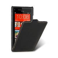 Чехол-флип для HTC Windows Phone 8S черный Melkco