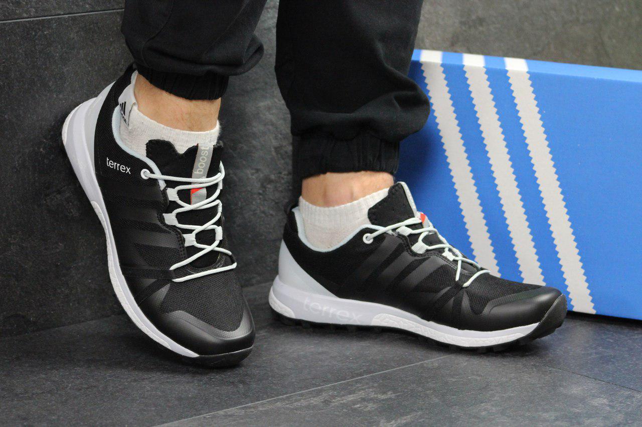 f413015d1d30 Кроссовки Мужские Черно-белые Adidas Terrex Boost 4619 — в Категории ...