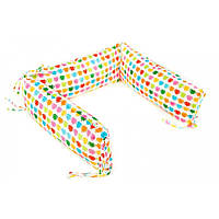Борт для детской кроватки - 3 подушки Goforkid Ай робот 25х60см 9801-204-004-1