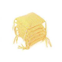 Борт для детской кроватки - 6 подушек Goforkid Сахара 32х32см 9801-204-036-2