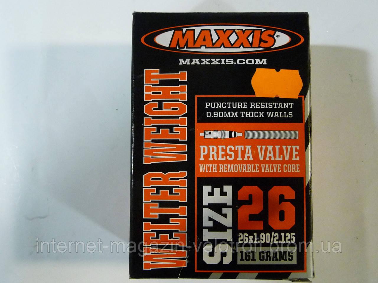 Велокамера Maxxis 26x1.90/2.125 F/V