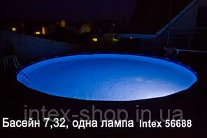 Каркасные бассейны Intex 57968 (732х132 см. ) полная комплектация +хлорогенератор., фото 2
