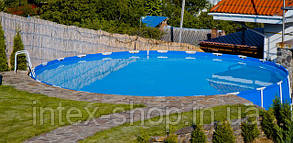 АКЦИЯ!!! Каркасный бассейн Intex 57966 Metal Frame Pool (732х132 см. ) полная комплектация, фото 2