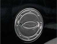 Накладка на лючок бензобака Ford Connect 2002-2013 (нерж.) Carmos