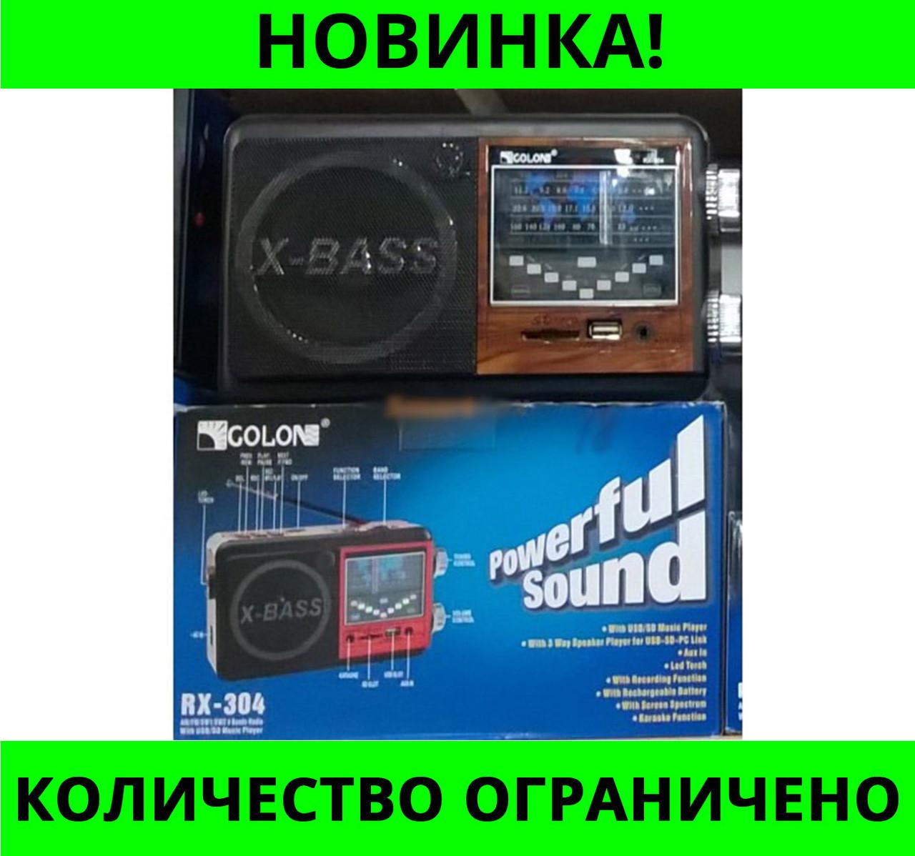 РАДИОПРИЕМНИК GOLON RX-304!Розница и Опт