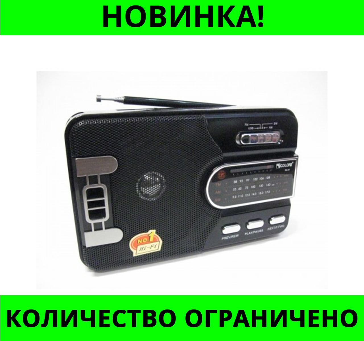 Радиоприемник GOLON RX-24 USB, SD, FM!Розница и Опт