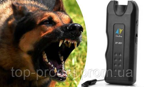 Отпугиватель от собак ZF 851 dog reppeler, Ультразвуковой отпугиватель собак, Ультразвук от собак