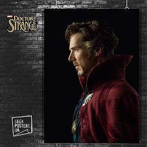 Постер Dr.Strange, Доктор Стрэндж. Размер 60x42см (A2). Глянцевая бумага