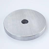 Блин для штанги или гантелей 3 кг металлический (диски утяжелители, млинець металевий)