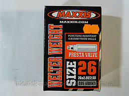 Велокамера Maxxis 26x2.20/2.50 F/V