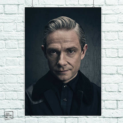Постер Ватсон, Sherlock. Размер 60x42см (A2). Глянцевая бумага, фото 2