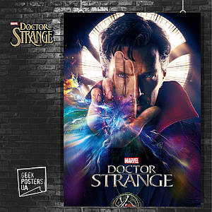 Постер Doctor Strange, Доктор Стренжд. Размер 60x40см (A2). Глянцевая бумага