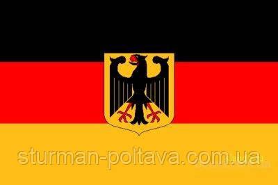Флаг Германии (с орлом) размер 150 х90