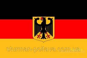 Прапор Німеччини (з орлом) розмір 150 х90