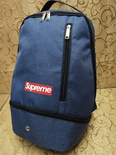 Рюкзак городской в стиле Supreme синий