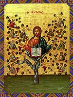 Схема для вышивки бисером Господь Иисус Христос - Истинная лоза КМИ 3027
