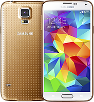"Китайский Samsung Galaxy S5 Gold, яркий IPS-дисплей 5"", 8 Мп, 2-х ядерный, Android 4.4.2, 1 SIM."