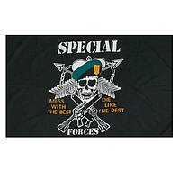 Флаг Американского спецназа размер 150х90