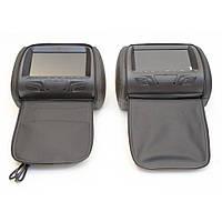 Комплект подголовников с монитором KLYDE Ultra 7727HD black (черный), фото 1
