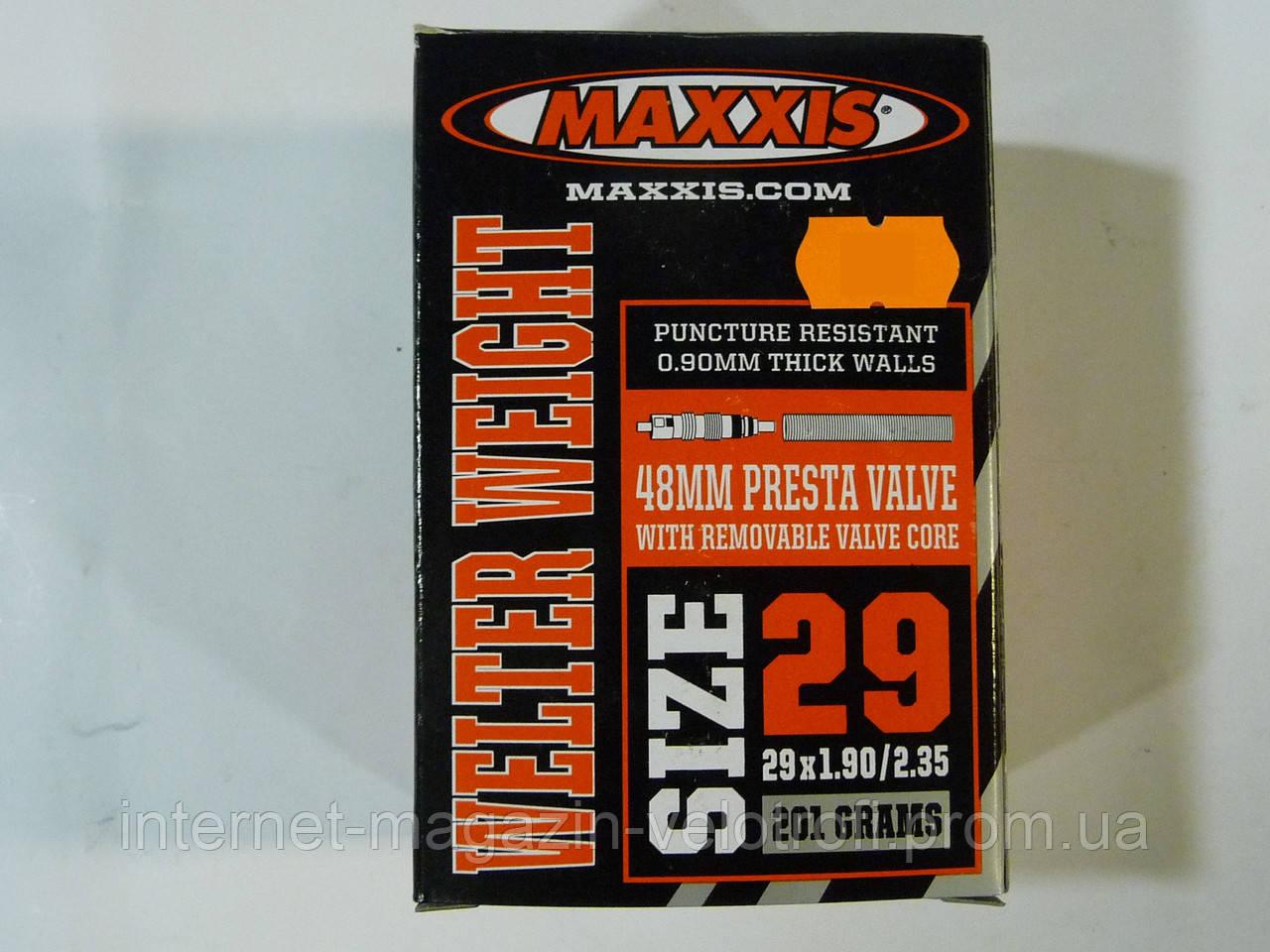 Велокамера Maxxis 29x1.90/2.35 F/V
