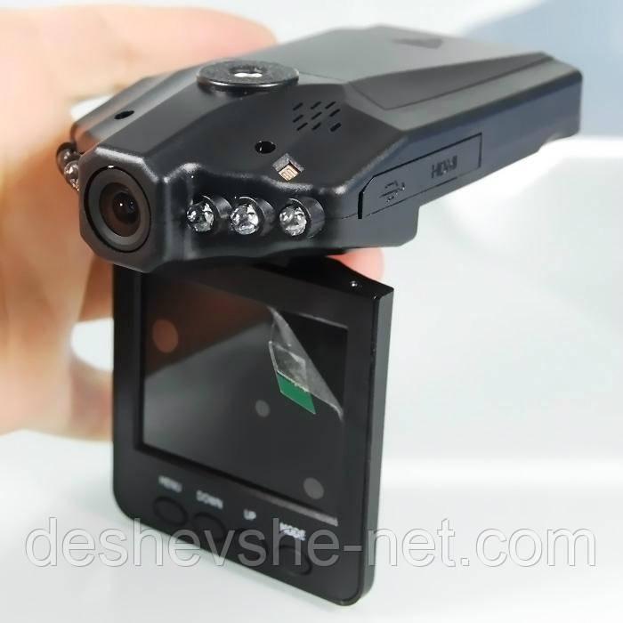 Видео регистратор HD DVR 198 Ночная съемка, камера в автомобиль