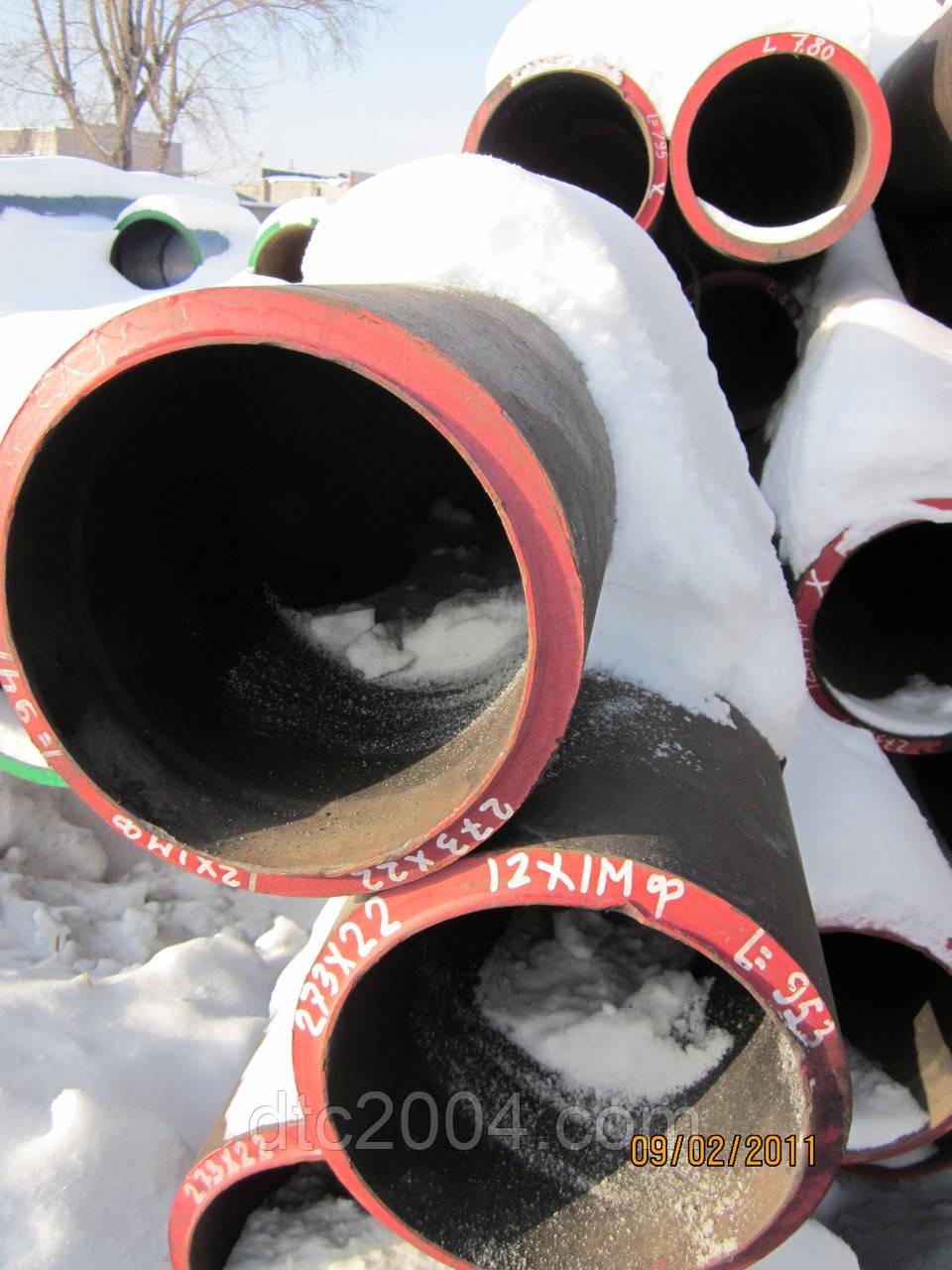 Трубы котельные 377х17мм, сталь 12Х1МФ