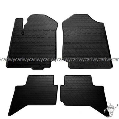 Коврики резиновые в салон Ford Ranger 11- (design 2016) 4шт. Stingray