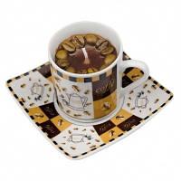 Ароматическая свеча в виде чашки кофе 80207
