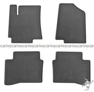 Коврики резиновые в салон Hyundai Accent 10-/Kia Rio III 11- 4шт. Stingray