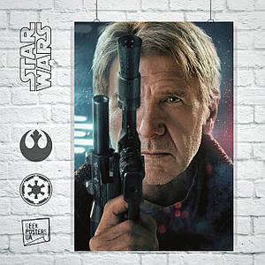 Постер Star Wars: Han Solo, Звёздные Войны: Хан Соло. Размер 60x42см (A2). Глянцевая бумага