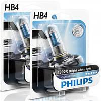 Philips CrystalVision 4300K / тип ламп НB4 / комплект 2шт