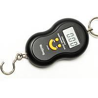 Весы ручные кантер электронные до 50 кг безмен Черный (44987)