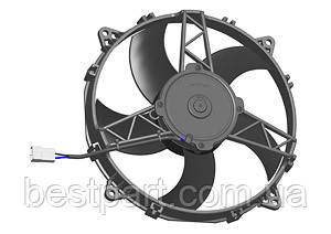 Вентилятор Spal 24V, толкающий, VA26-BP50/C-60S