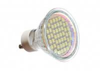Светодиодная лампа,  GU10, 220V 48pcs 3528