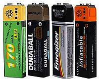 Зажигалка газовая Батарейка (обычное пламя) №2359