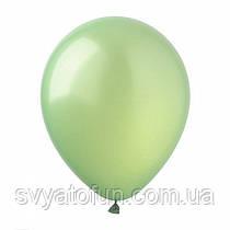 """Латексные шарики металлик 12"""" шампань (100 шт/уп), SL12-016, ArtShow"""
