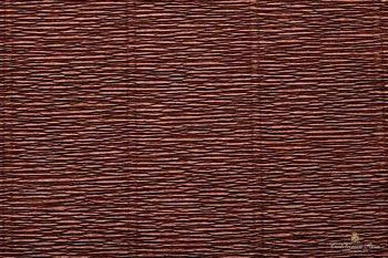 Креп бумага  коричневая