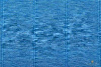 Креп бумага  синяя