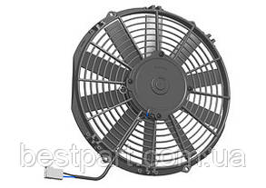 Вентилятор Spal 24V, толкающий, VA09-BP50/C-27S