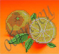 Схема для вышивки бисером Апельсин КМР 5055