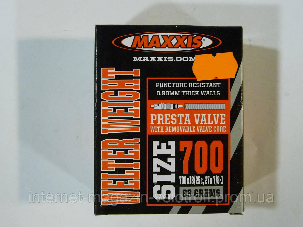 Велокамера Maxxis 700x18/25c F/V