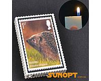 Зажигалка карманная марки Ежик (обычное пламя) №2563-2